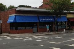 JP Seafood Cafe Awning